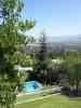 Vista y piscina