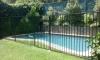 Jard�n y piscina