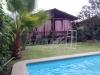 vista piscina-casa