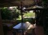 Acogedora terraza techada